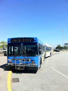 Not In Service bus at Tsawwassen Ferry Terminal | by sillygwailo