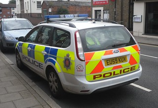Essex Police / Ford Focus / Response Car / ER22 / EU59 KUV | by Chris' 999 Pics