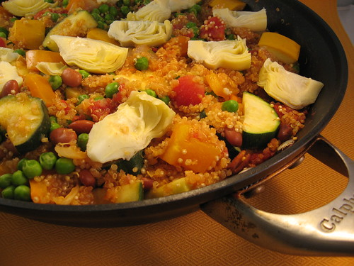 Quinoa and Vegetable Paella | by Michael Beyer Photography