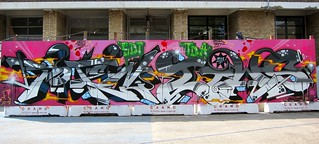 Trailerpark Festival 2011 - Full wall: Soten Tiws | by Tiws