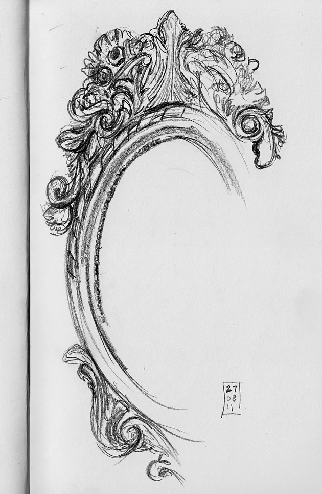 Image gallery mirror sketch for Mirror drawing