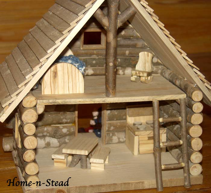 Little Log Cabin Dollhouse Once Upon A Very Long Time