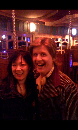 Me and Bob Downe | by Margaret Cho