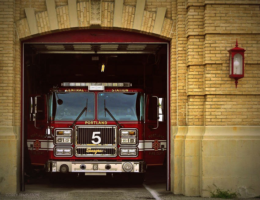 Central Station  The Portland Fire Department39s Central