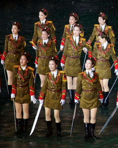 Mass Game Sexy Soldiers - North Korea  Arirang Mass Games -6570