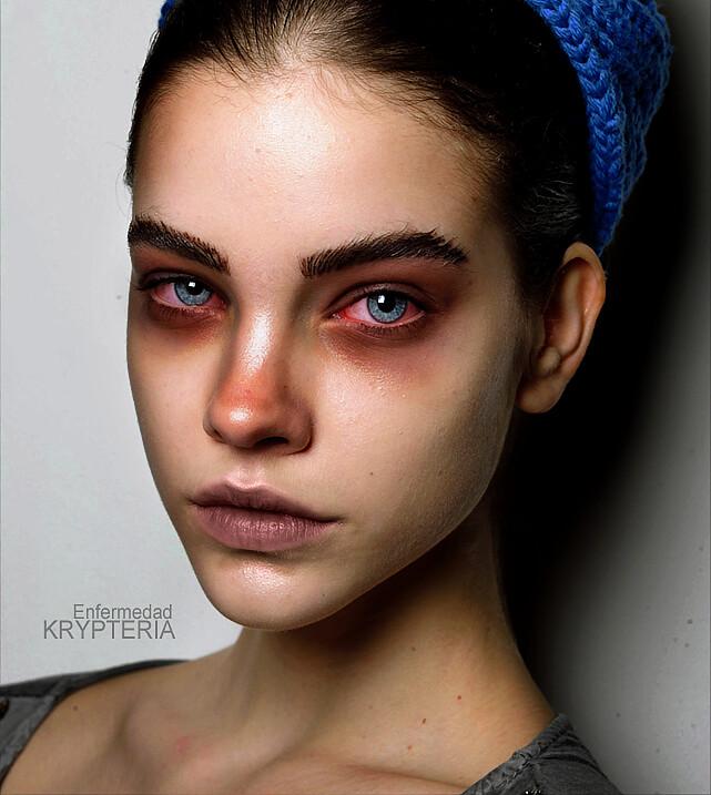 Maquillaje Digital - Enfermedad (Barbara Palvin ...