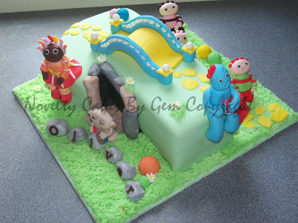 Number 1 In The Night Garden Birthday Cake Come Find Me On Flickr