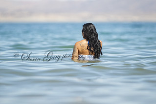 Beautiful Hispanic Woman in a Lake | by SusanGaryPhotography