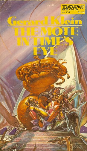 Mote in Time's Eye - Gerard Kirby - cover artist Josh Kirby