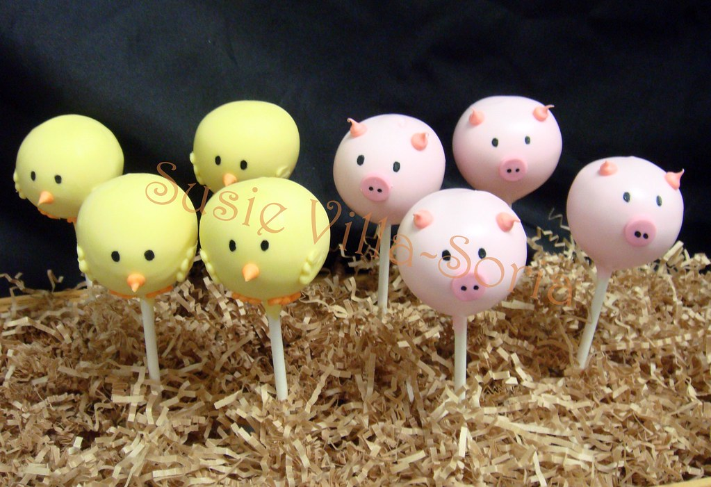 Animal Cake Pops Tutorial