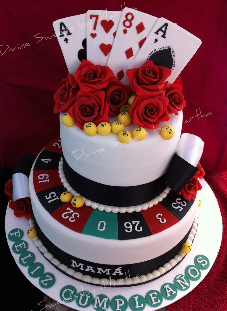 Poker Cake Decorating Ideas
