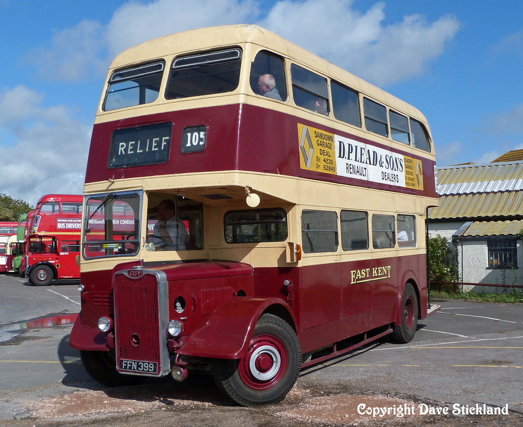 The Car Company >> FFN399 1951 Guy Arab III Park Royal bodied ex East Kent Ro… | Flickr