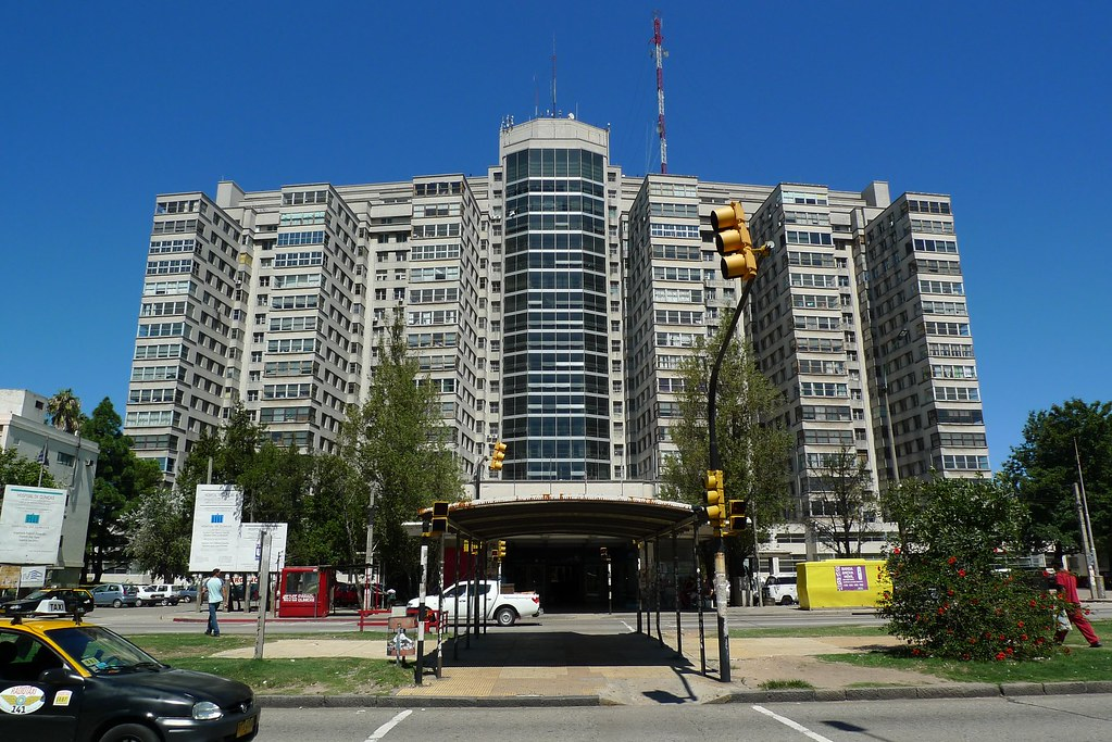 Hospital De Clinicas Montevideo Uruguay Located On Av