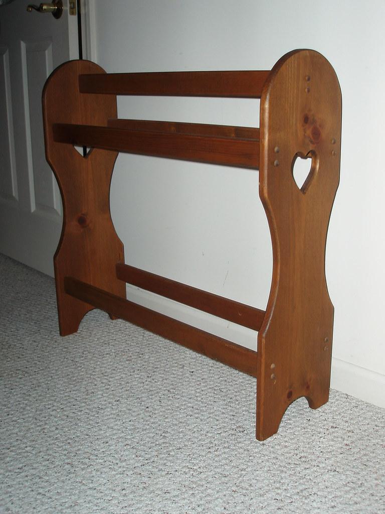 Quilt Display Stand Plans Quilt Ladder Woodworking Plan
