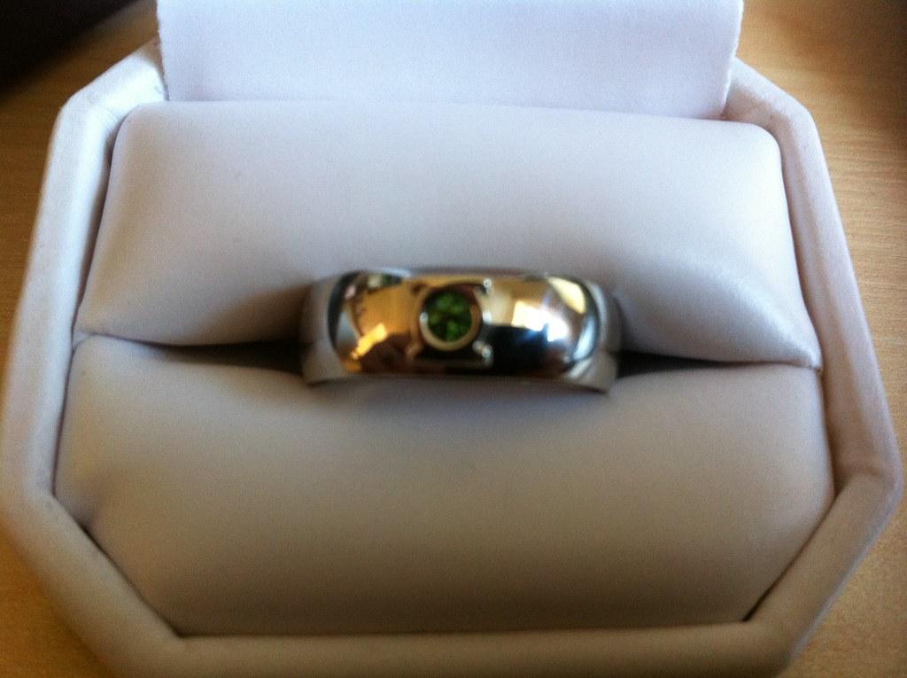green lantern wedding ring by binaryjungle - Green Lantern Wedding Ring
