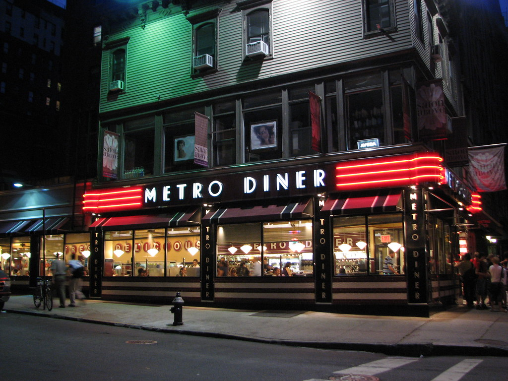 Metro diner new york sergey shpakovsky flickr for Diner picture