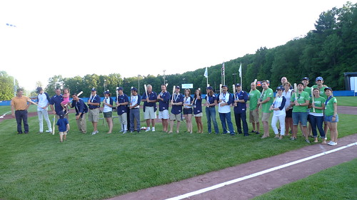 All of the Chobani Champions team at opening day! | by Chobani