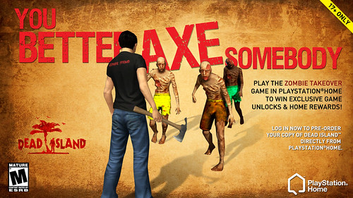 Dead Island Axe | by PlayStation.Blog