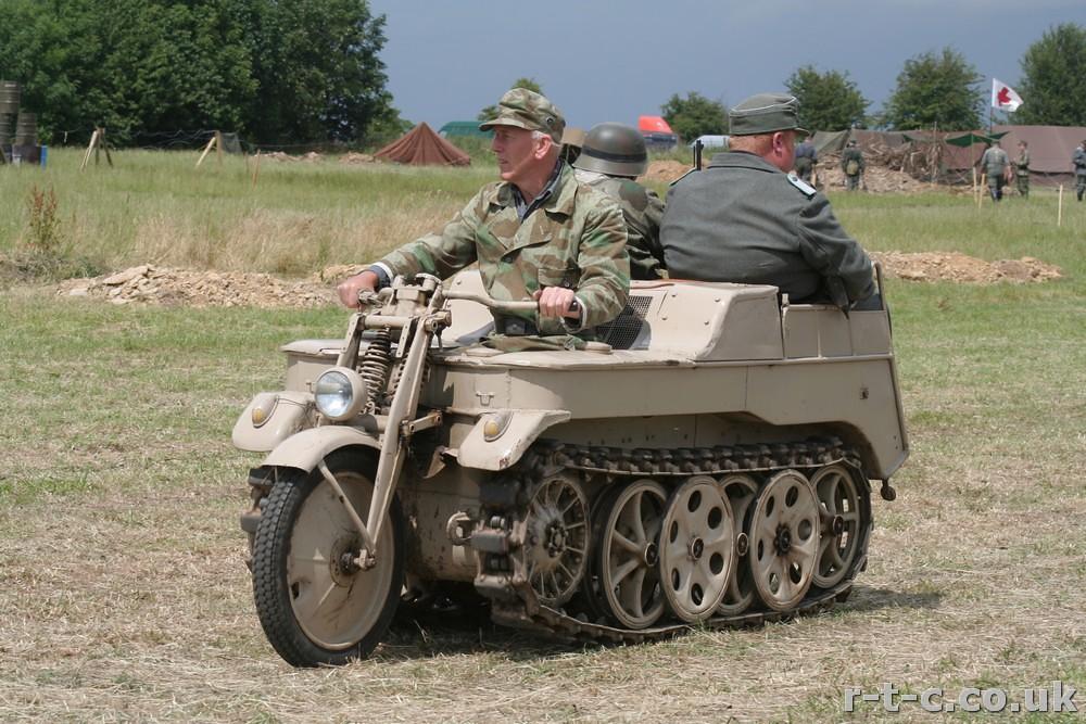 Sdkfz 2 Kettenkrad On Parade An Incredibly Versatile