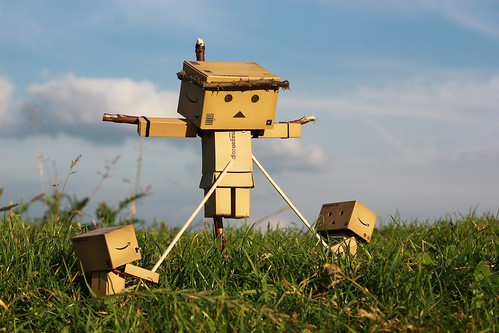 Crucified Danbo | by Jody Walmsley