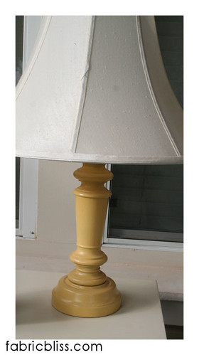 goodwill_lamp_makeover | by fabric.bliss