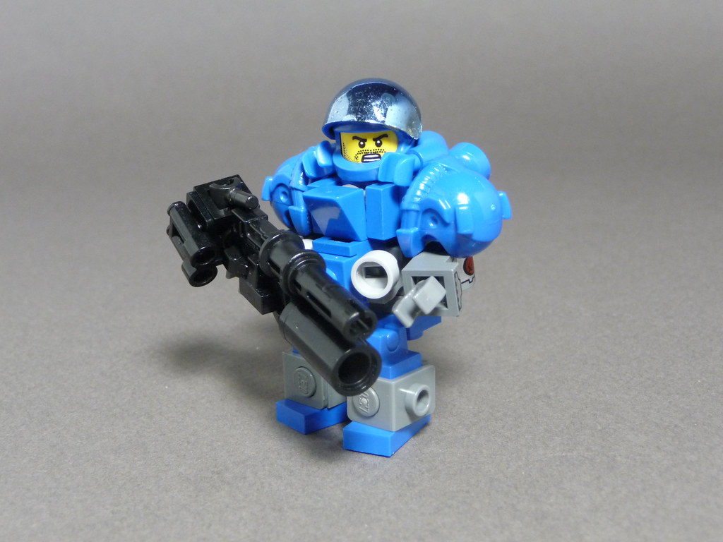 Terran Marine Wax Em Boys The Marine Is The Basic Unit Flickr