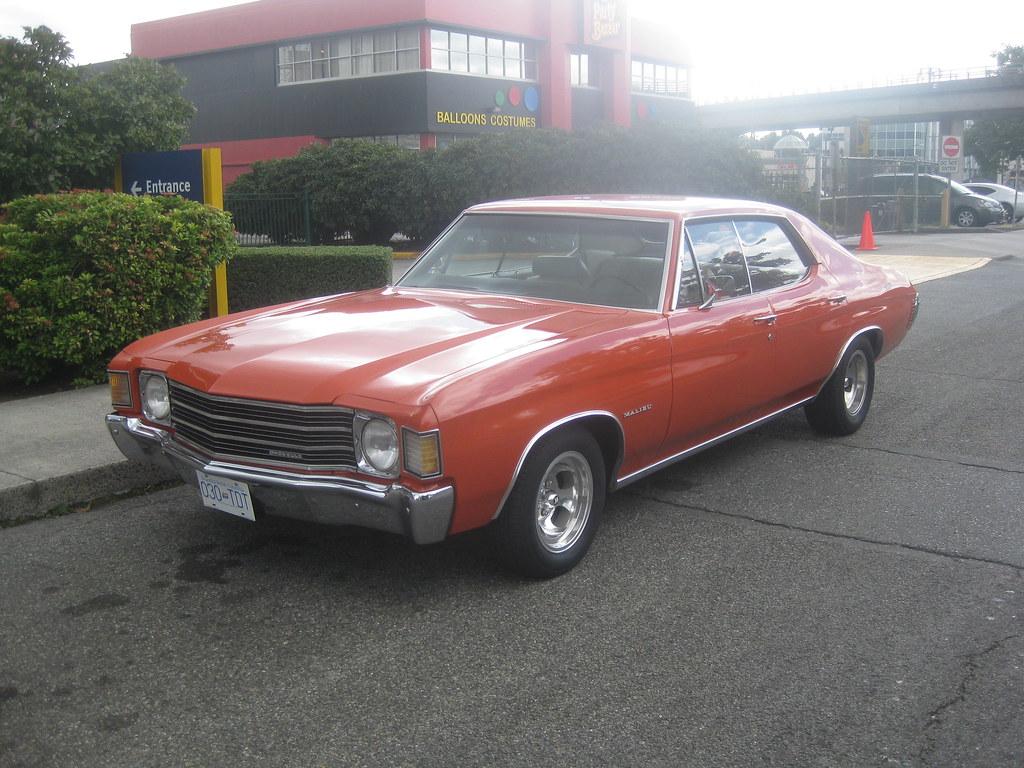 Malibu 1972 chevrolet malibu : 1972 Chevrolet Chevelle Malibu 4 Door | I saw this when I wa… | Flickr
