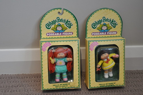 Vintage Cabbage Patch Kids Poseable Figures - 1984 | by jadedoz