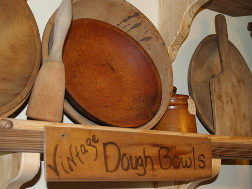 Vintage Dough Bowls at Mosswood Farm Store | by Visit Gainesville