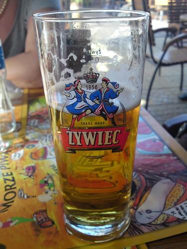 Żywiec polish beer in Warsaw (Warszawa)