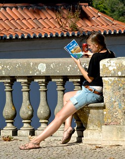 Reading a touristic guide | by pedrosimoes7