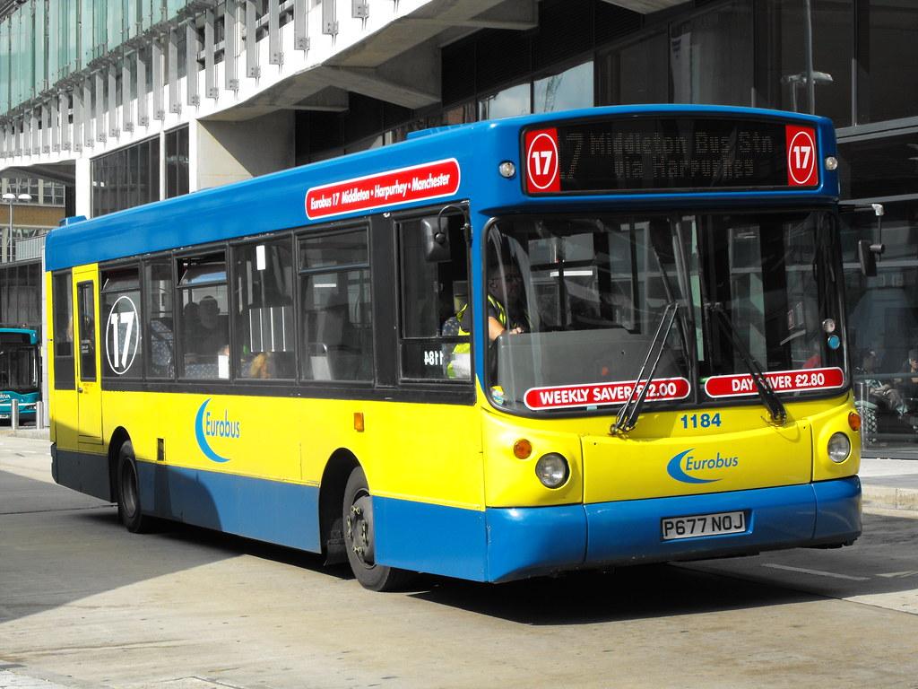 Eurobus 1184 P677noj Volvo B6le Alexander Dennis Alx200