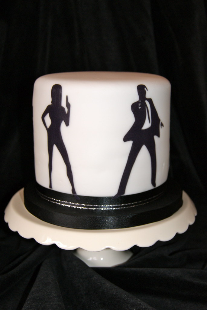 James Bond Cake Double Height 6 Quot Chocolate Cake Made