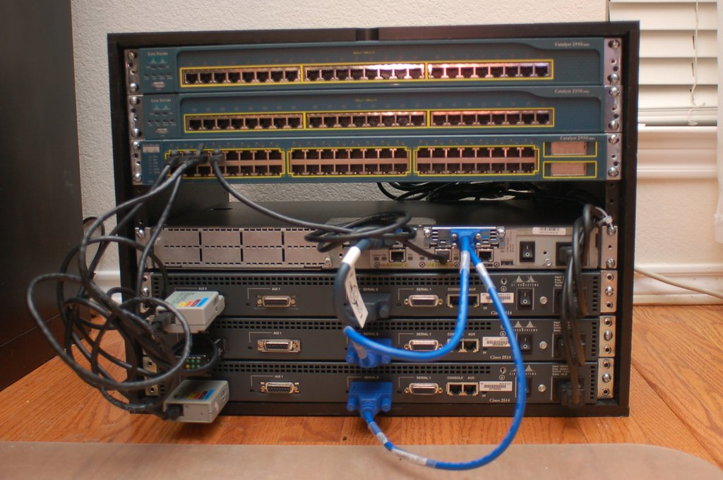 Cisco Ccna Lab Details Of The Cisco Ccna Home Lab Here Flickr