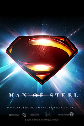 Man Of Steel Iphone Wallpaper Designed By Daniele Morett