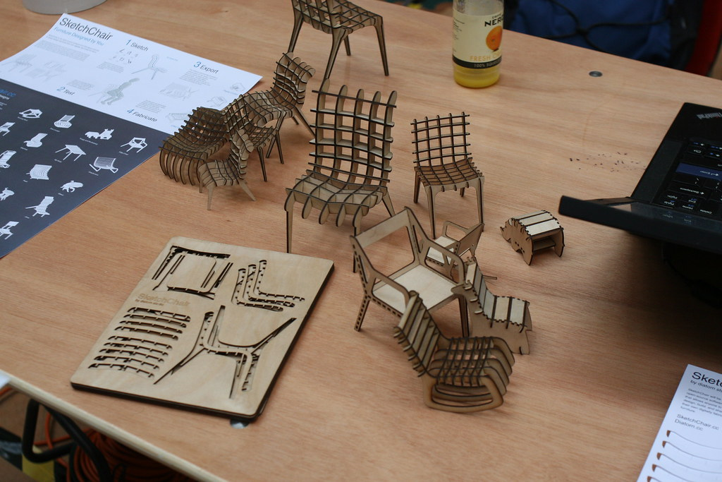 Bmmf Laser Cut Furniture John Honniball Flickr