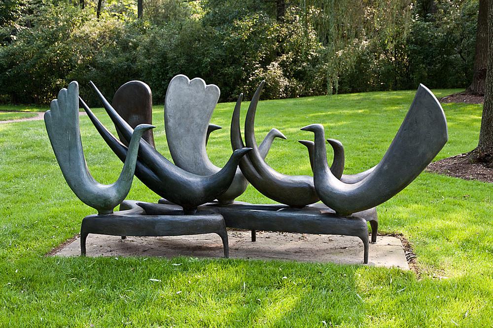 Pepsico Sculpture Garden-Art Price-Birds of welcome   Flickr