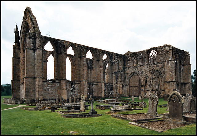 st marys priory ruins bolton abbey flickr photo