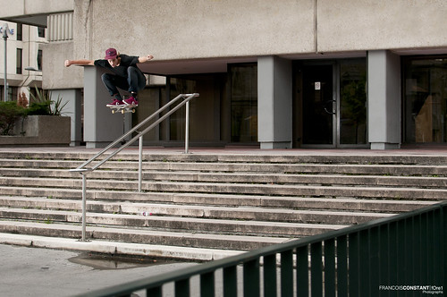[ Fred Plocque Santos - Ollie over the rail ] | by FrancoisConstant