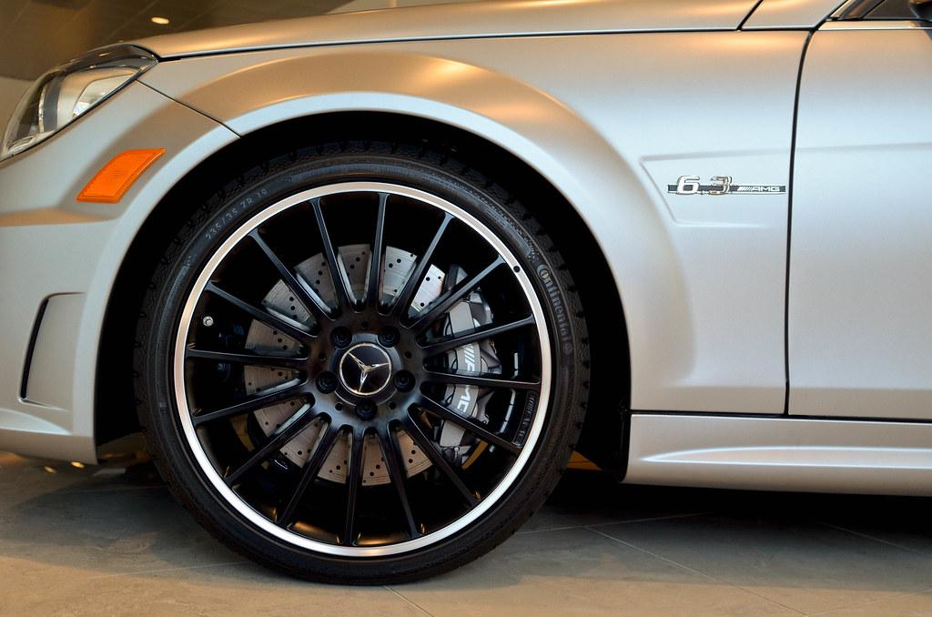 2012 Mercedes Benz C63 Amg Edition1 19 Inch 16 Spoke