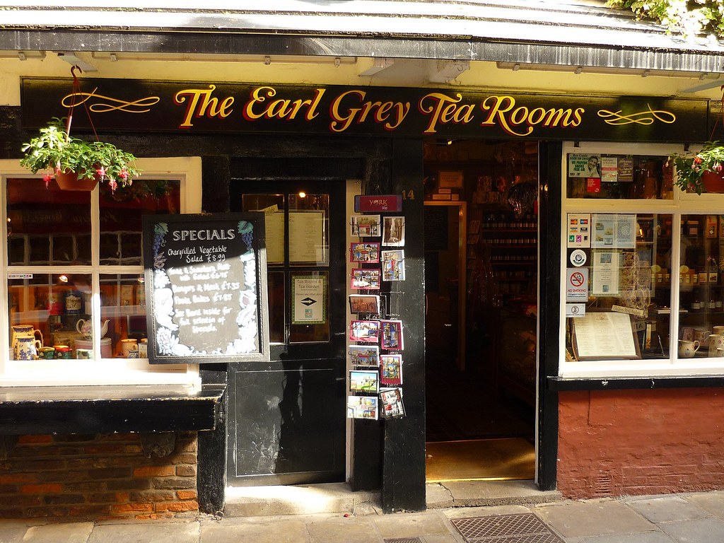 The Earl Grey Tea Rooms The Shambles York England Flickr