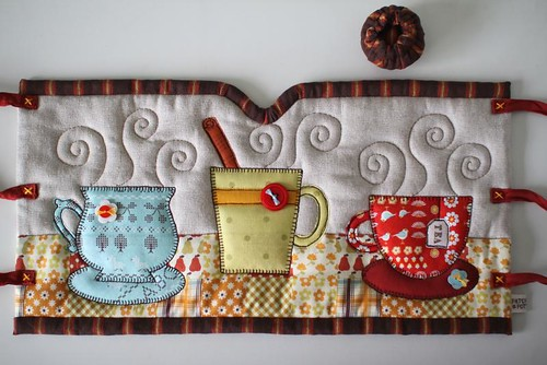 French Press Cozy | by PatchworkPottery