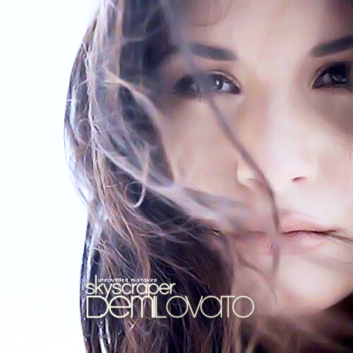 Demi Lovato Skysc R Single Cover By Unravelled Mistakes