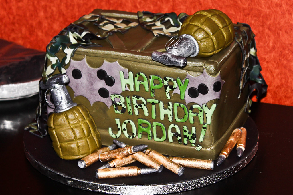 Jordans 14th Birthday Cake Call Of Duty Cake Skedoozy Flickr