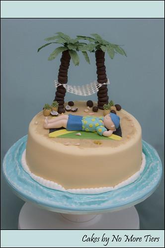 Desert Island Jamaica Themed Cake Quot Desert Island Quot Themed