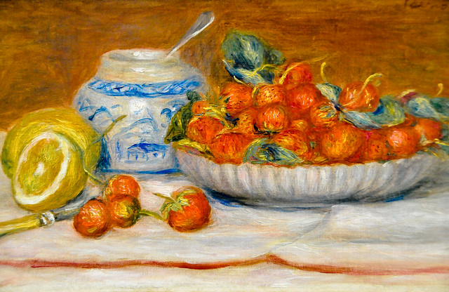 Pierre auguste renoir fraises strawberries 1905 at for Auguste renoir paris