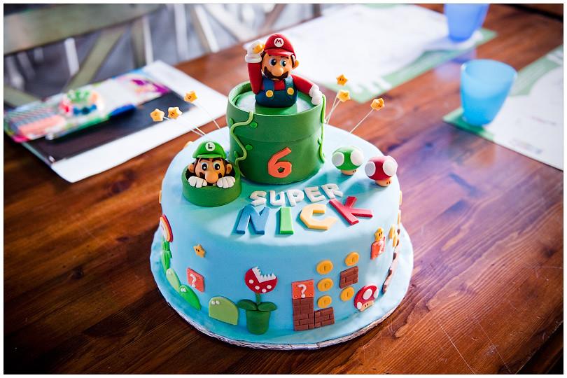 super mario and luigi cake cake for nick chocolate cake flickr. Black Bedroom Furniture Sets. Home Design Ideas