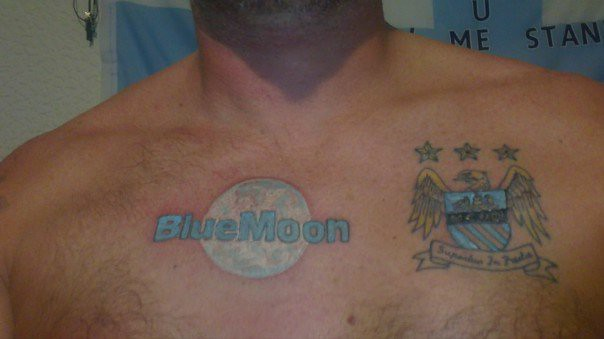 My Man City Tattoos Mcfc Blue Moon For Evermcfc Flickr