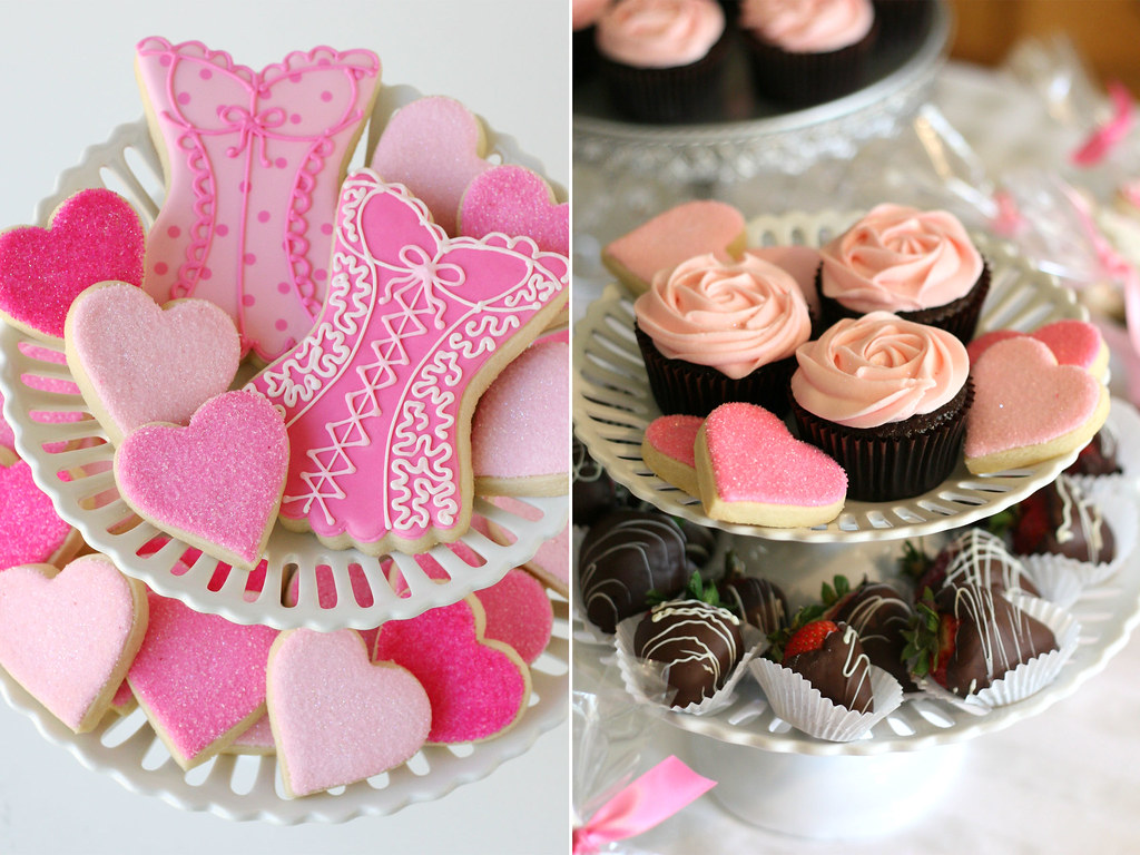 wedding shower sweets by glorious treats