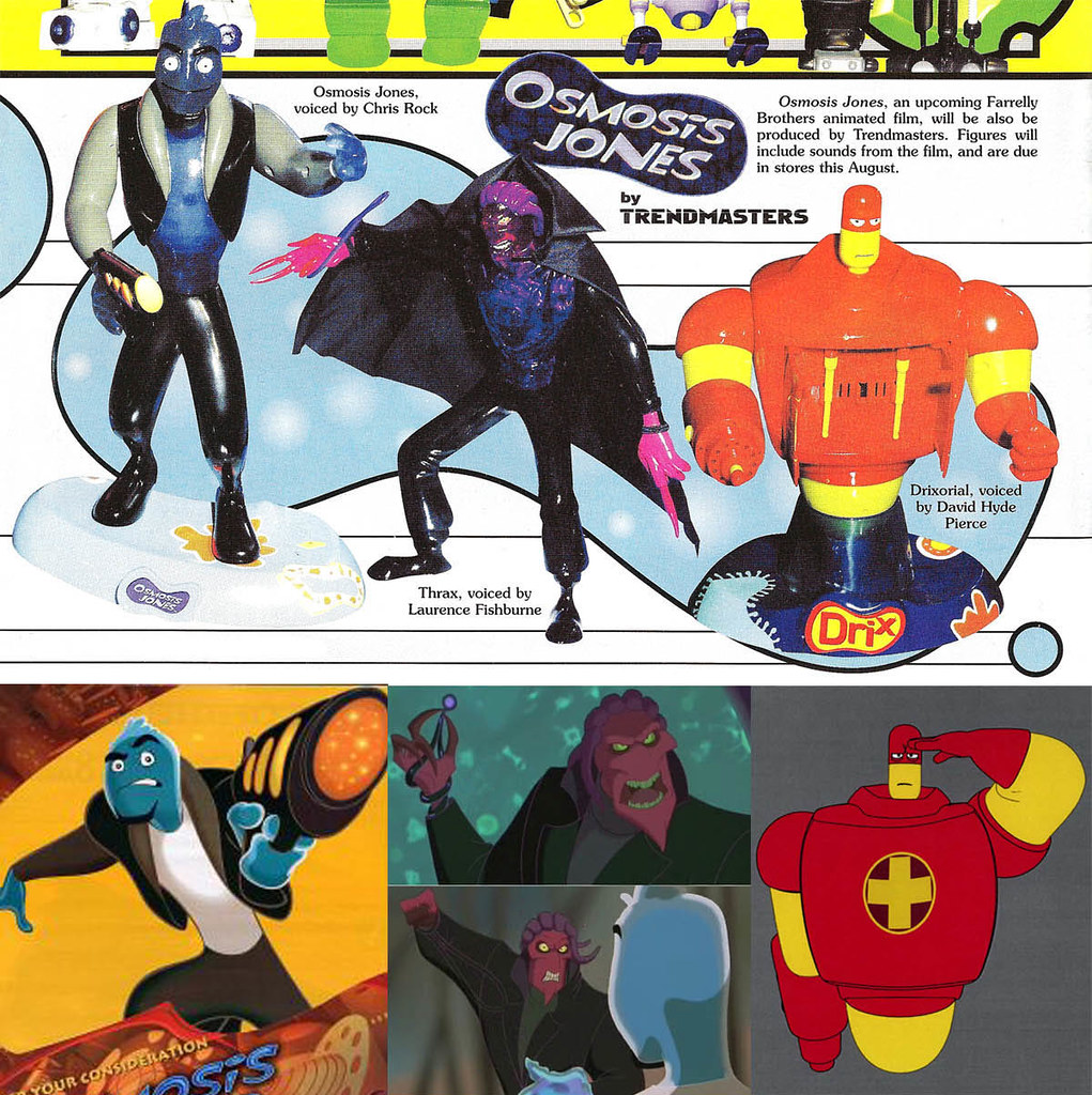 TRENDMASTERS Osmosis Jones Toy Prototype Ad This was an ad – Osmosis Jones Worksheet
